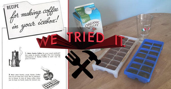 "We Tried It: ""Making Coffee In Your Icebox"" Is A Milky Proposition"