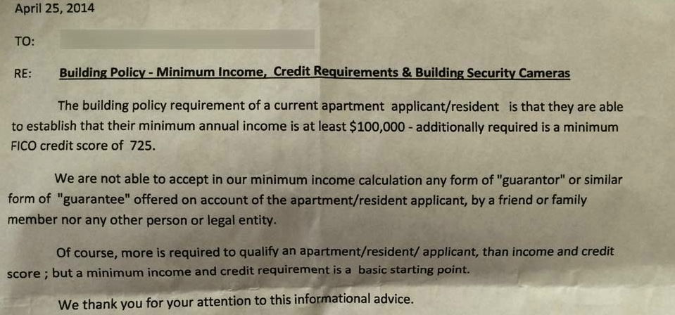 hoodlinecom posted this letter from a renter in san franciscos lower haight district