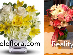 Teleflora On Mother's Day: Eh, This Is Close Enough