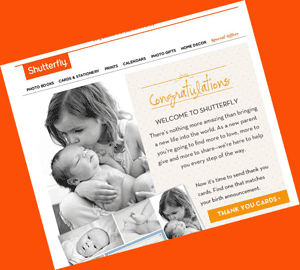 Shutterfly Congratulates Everyone On Arrival Of Nonexistent Babies