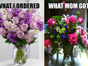 Florists Suffer Apparent Shortage Of Purple Blooms This Mother's Day