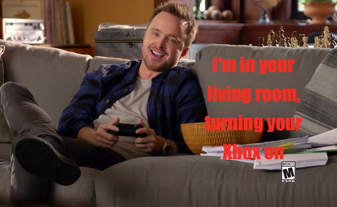 The Aaron Paul Xbox One Ad Will Mess With Your Xbox One