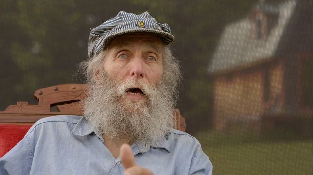 Burt's Bees co-founder Burt Shavitz is the subject of the new documentary, Burt's Buzz.