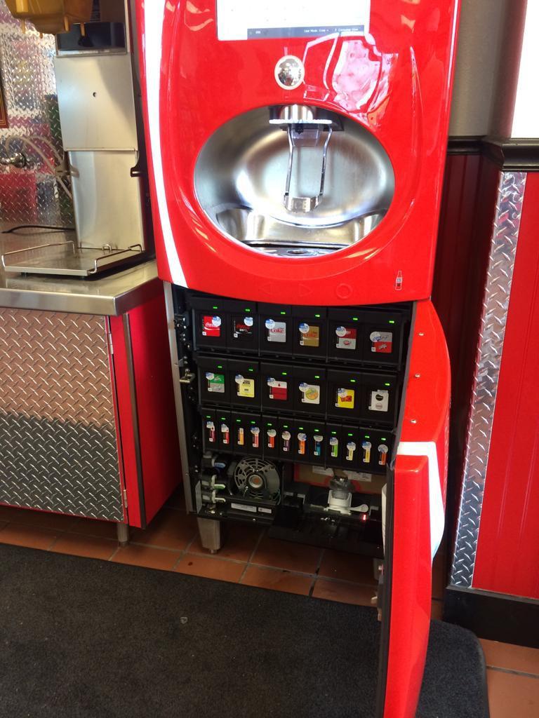 The Inside Of A Coke Freestyle Machine Looks Like A ...