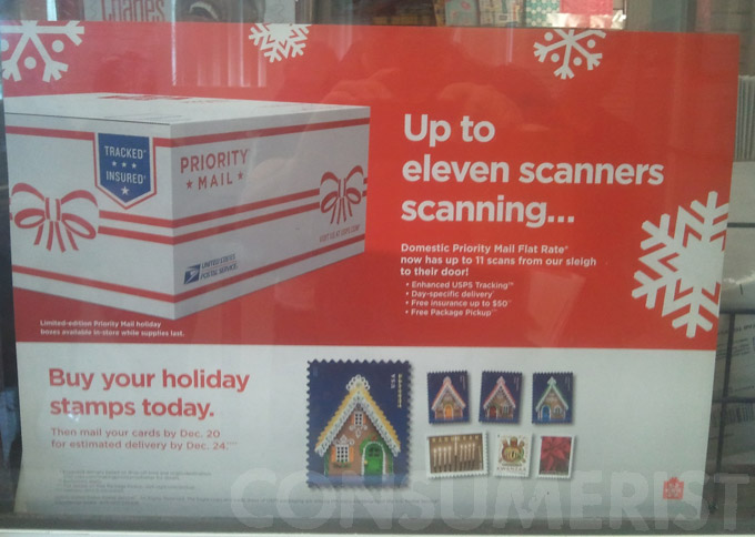 Planning Ahead: USPS Advertises Christmas Stamps In June