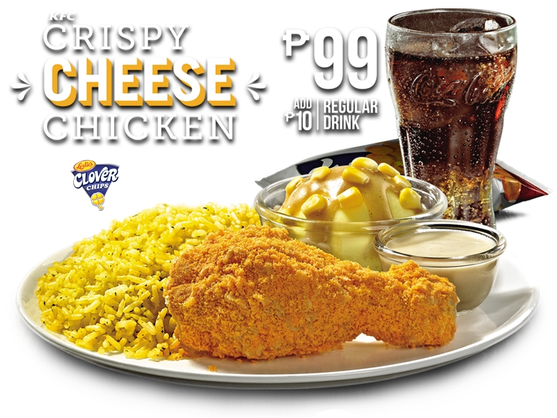 KFC Philippines Creates Fried Chicken Coated With Cheese Chips