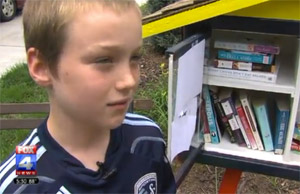"City Calls Cabinet Full Of Books To Borrow A ""Structure,"" Makes Family Remove It"
