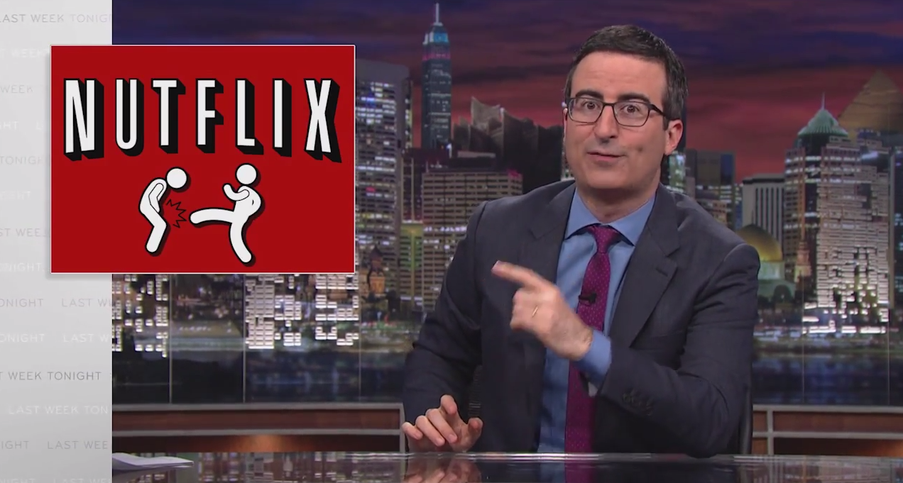 "John Oliver Suggests Renaming ""Net Neutrality"" To ""Cable Company F*ckery"""