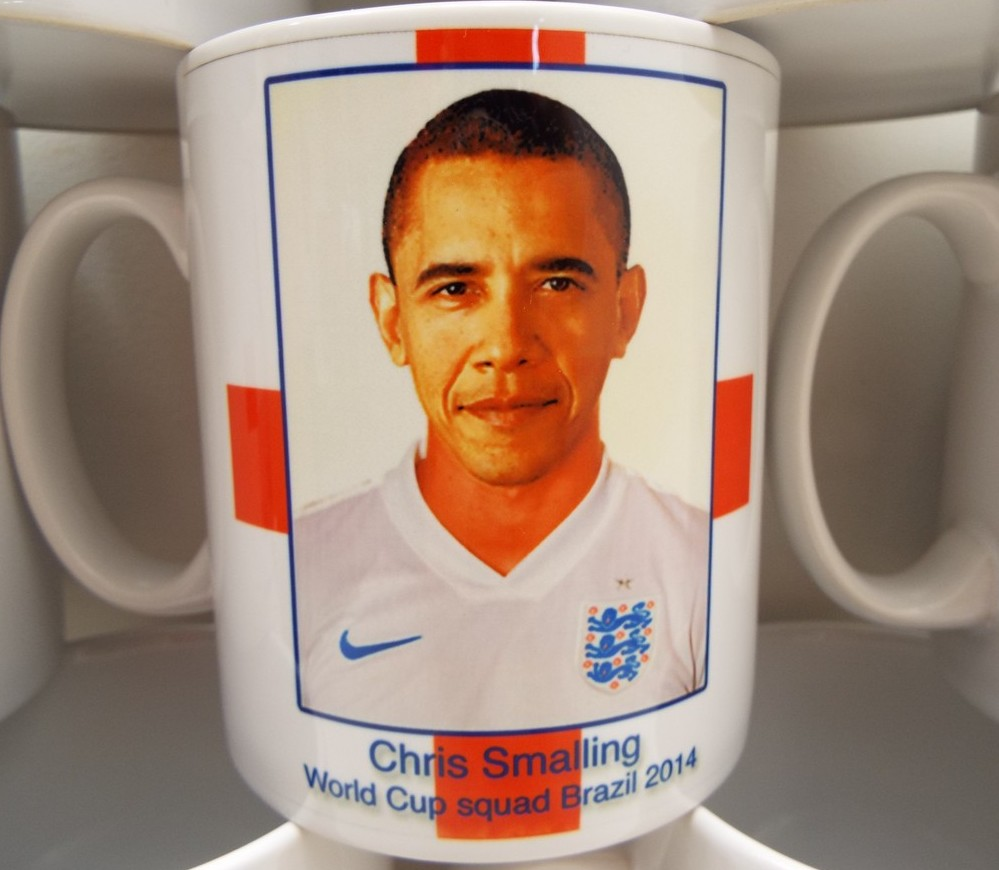 """Wonderfully Mistaken Chris Smalling England Cups"""