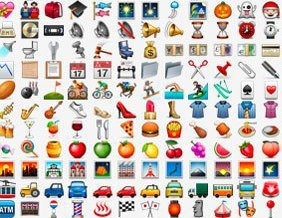 These are old emojis.