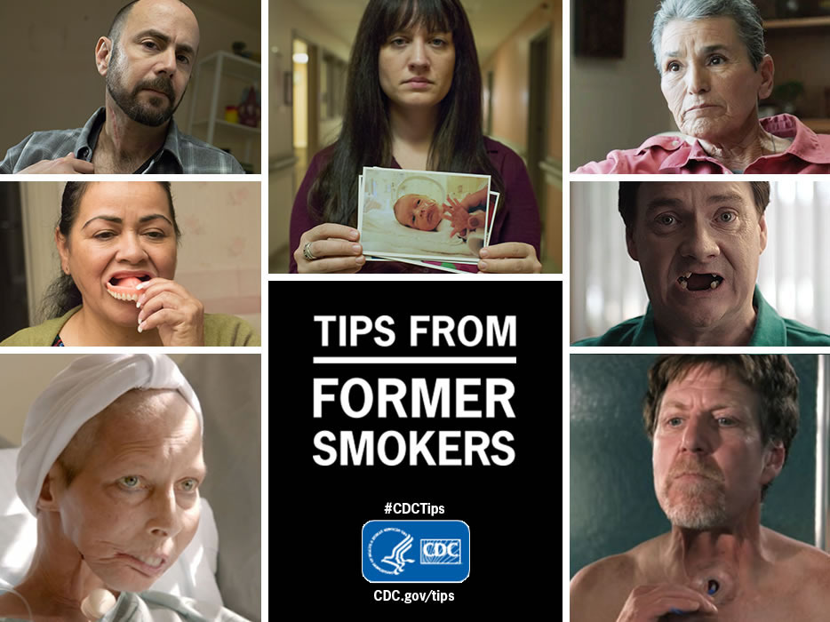 Images from the new CDC ads that will start airing on July 7.