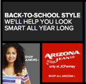 It's June, So Time For The JCPenney Back-To-School Sale