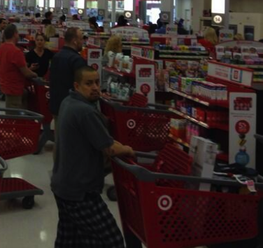 Target Says Glitch That Caused Sunday's Long Lines Was Not Result Of Hack