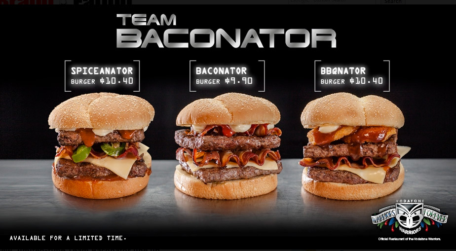 Wendy's Baconator Brings A Backup Team To New Zealand