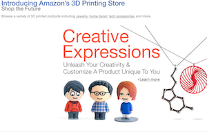 Amazon Launches Marketplace Selling 3D Products Printed On-Demand