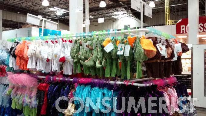 halloween creep strikes costco with july costume displays consumerist