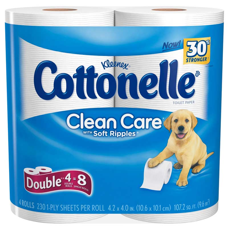 Cottonelle Toilet Paper Contained No Cotton Until 2013