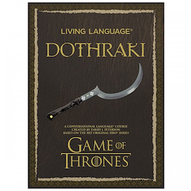 Soon You'll Be Able To Learn Dothraki So You Can Pick Up Dates At The Stables