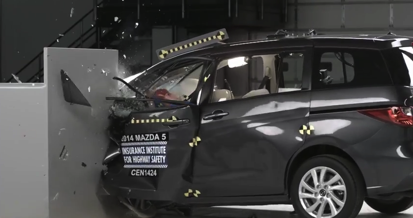 "Only 1 Out 12 Small Cars Gets ""Good"" Rating In New Crash Test Results"