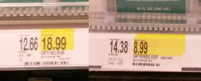 Comparison Shopping At Target Would Be Easier If They Could Do Math