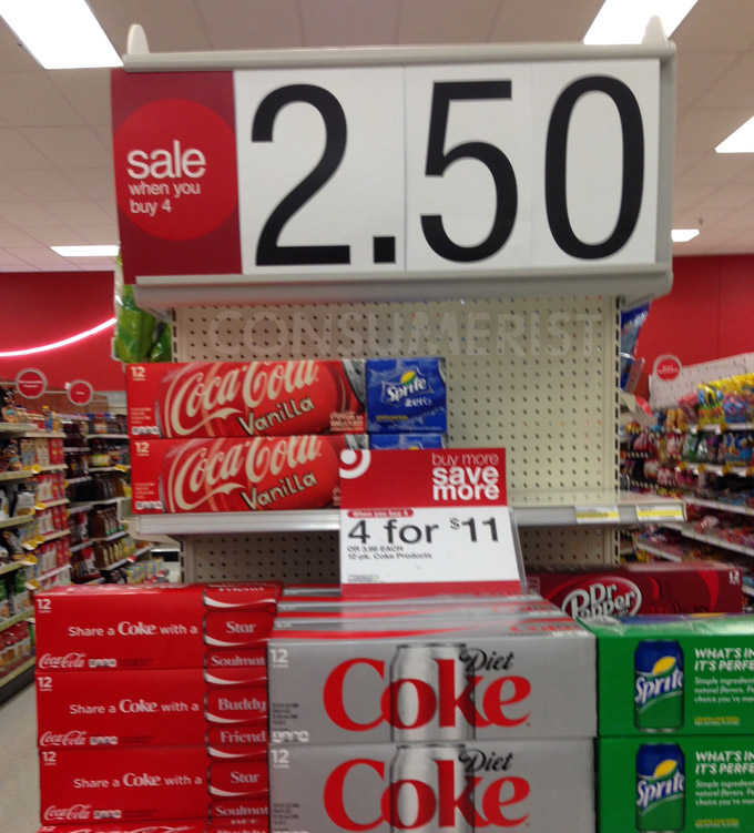 How Much Does Soda Cost At Target? Target Has No Idea