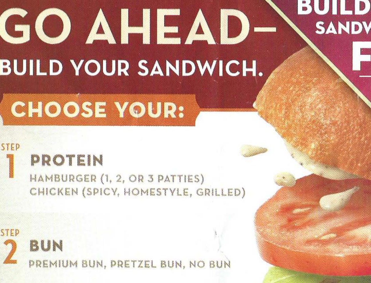 Wendy's Testing Out Build-Your-Own Sandwich Idea