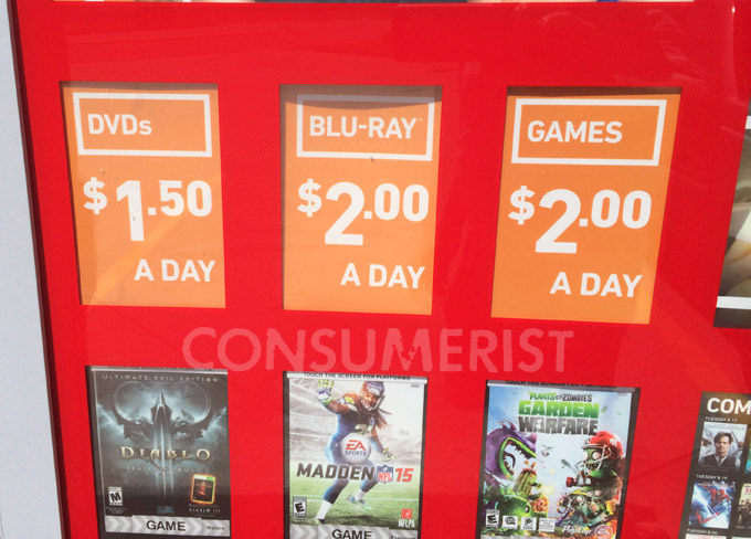 Redbox Is Running DVD And Blu-Ray Price Hike Tests Again