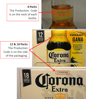 Corona Extra Beer Recalled Because Glass Particles Don't Go Down So Smoothly