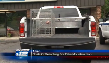 Man Arrested For Calling Police About Imaginary Escaped Mountain Lion