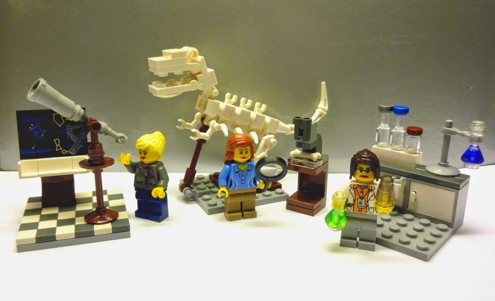 The LEGO Female Scientists Are Back, Maybe Indefinitely