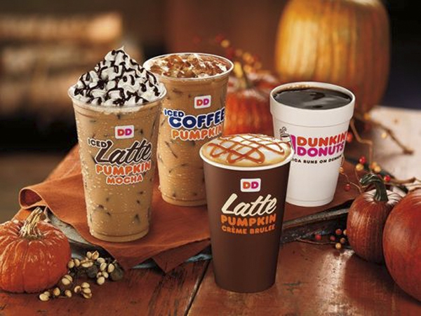 The Pumpkin Crème Brûlée Latte Is Now A Thing At Dunkin' Donuts
