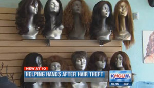 Donations Pour In, Replace Wigs Taken By Lowdown Thief