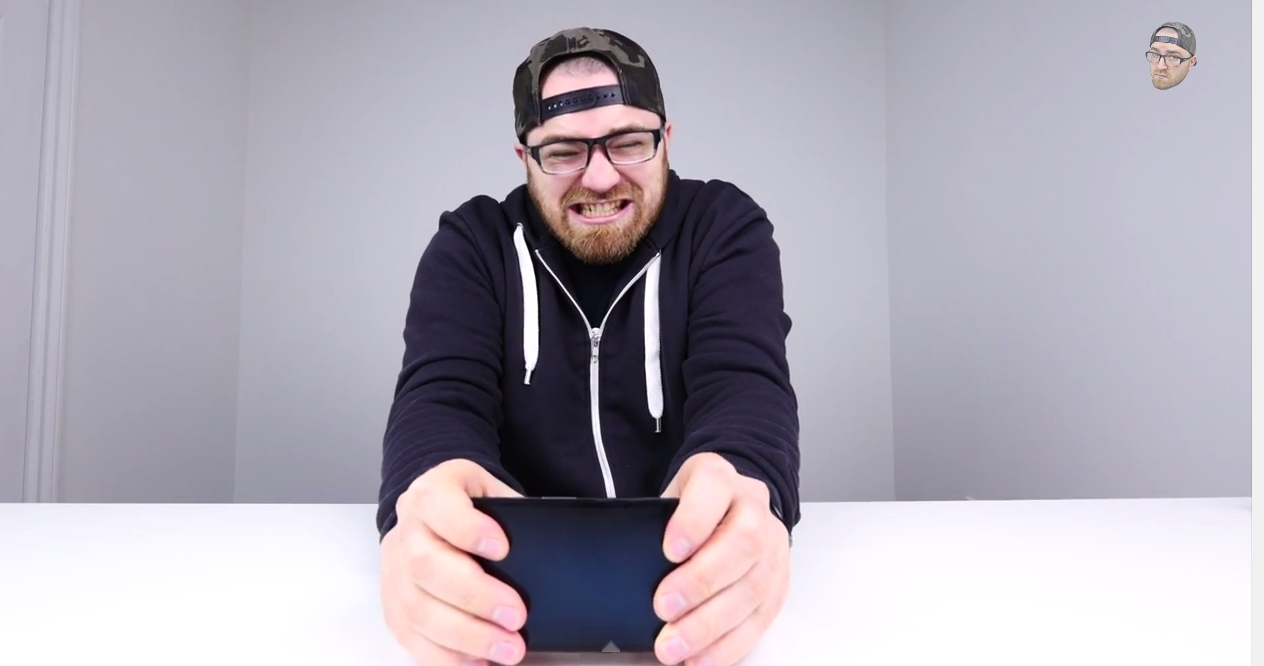 Here Are 9 Minutes Of The iPhone-Bending Guy Trying To Bend Other Phones