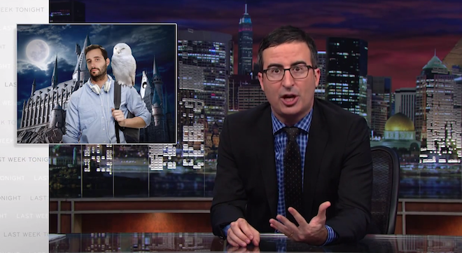 John Oliver On For-Profit Colleges: You Might As Well Go To Hogwarts