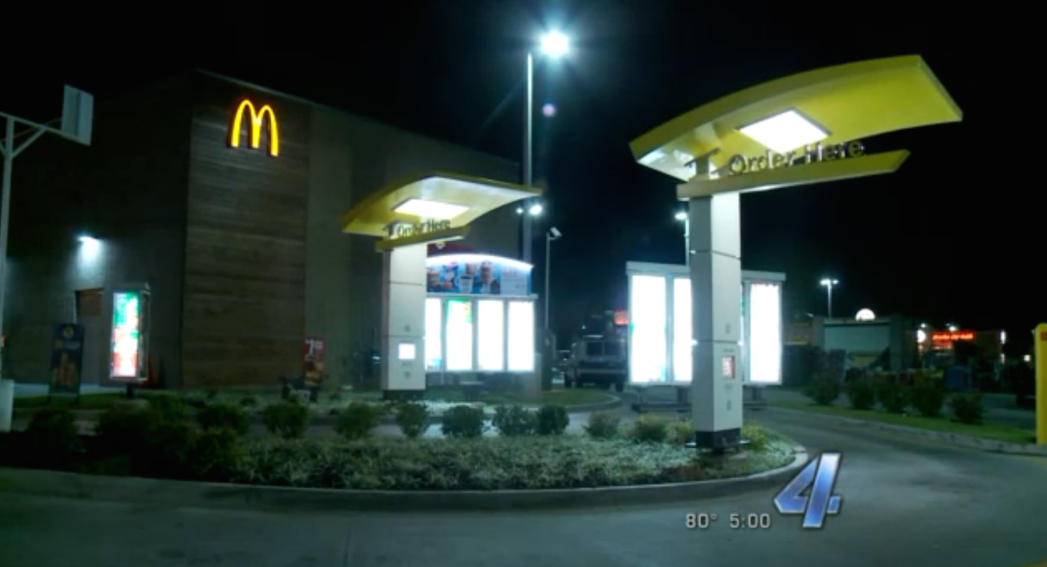 McDonald's Won't Serve Pedestrian At Drive-Thru, So He Steals Customer's Car
