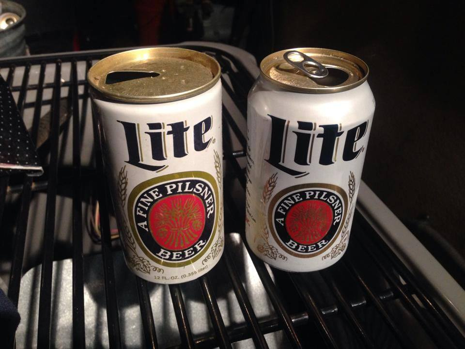 people really think miller lite in vintage style cans tastes better