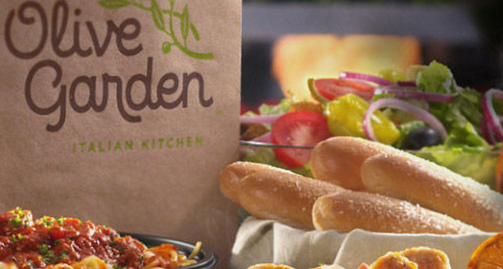 Investor Asks Olive Garden Servers To Be Stingier With Free Breadsticks