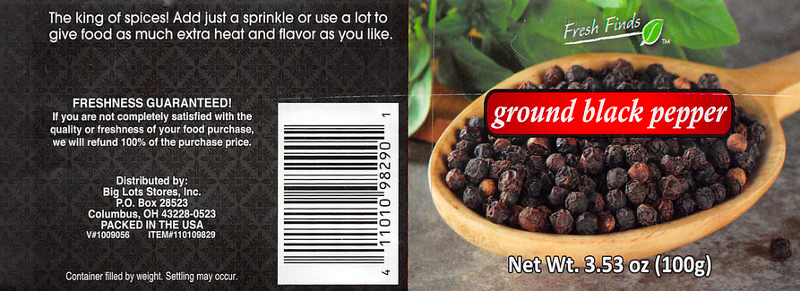 Fresh Finds Ground Black Pepper is being recalled in all 50 states.
