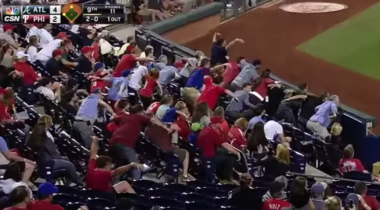 Phillies Fans Impression Of Atlanta Pitcher Is Highly Amusing