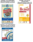 Bravo! products being recalled. [Click to enlarge]