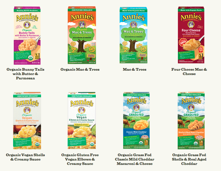 General Mills Acquires Annies Homegrown Foods Bunny Mascots