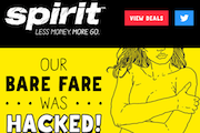 Spirit Airlines Promotion Tries To Cash In On Nude Photo Hack Story