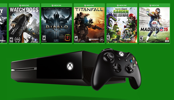 Microsoft Really Wants You To Buy An Xbox One So It's Giving Away Free Games Next Week
