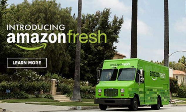 Amazon Fresh has expanded to a very select area of New York City.