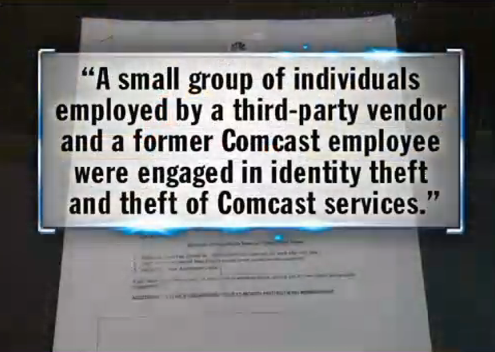Comcast Sat By As ID Thieves Set Up Multiple Accounts, Ran Up Thousands In Charges