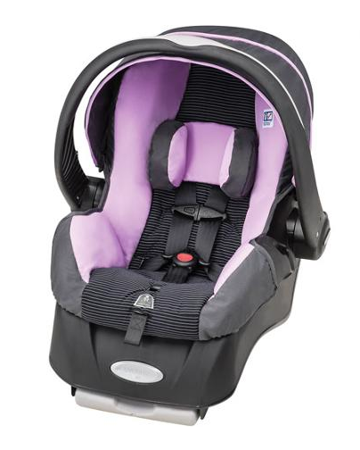 Evenflo Agrees To Recall 202,000 Rear-Facing Infant Car Seats Over Tricky Buckle