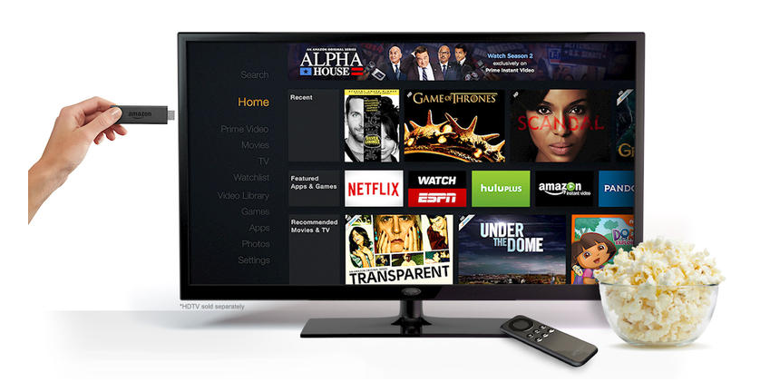 Amazon recently announced a more compact version of its Fire TV, which already accounts for 1-in-10 streaming devices sold in 2014.