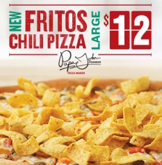 Readers' Reviews Of Papa John's Fritos Chili Pizza Mixed, Mostly Bad