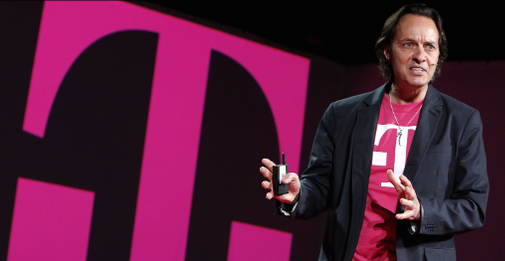 T-Mobile's John Legere is sick of everyone lusting after his wireless business.