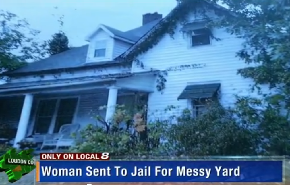 Woman Sent To Jail For Failing To Mow Lawn